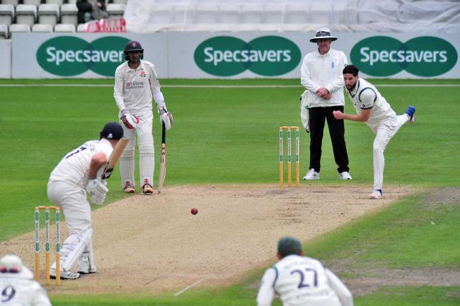 Worcestershire's Wayne Parnell, pictured in bowling action, claimed four wickets against visitors Sussex. Picture: JONATHAN BARRY