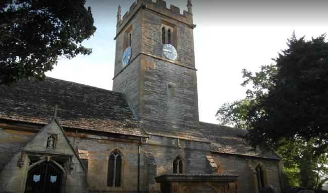 VANDALISM: St Andrew's Parish Church, in Pershore Lane, Evesham