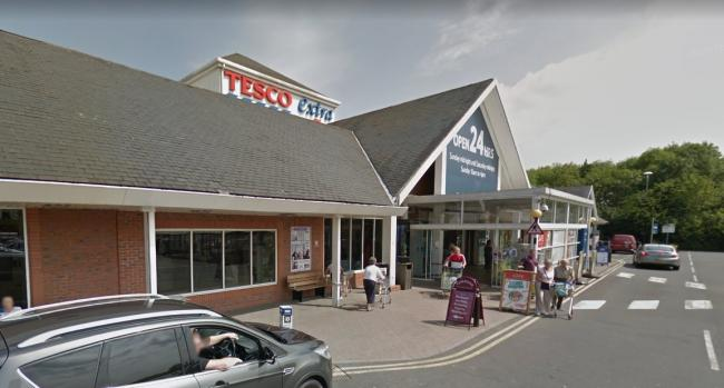 Tesco in Coldfield Drive