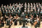 CHOIR: The choir's most recent concert, at Malvern Theatre in June this year