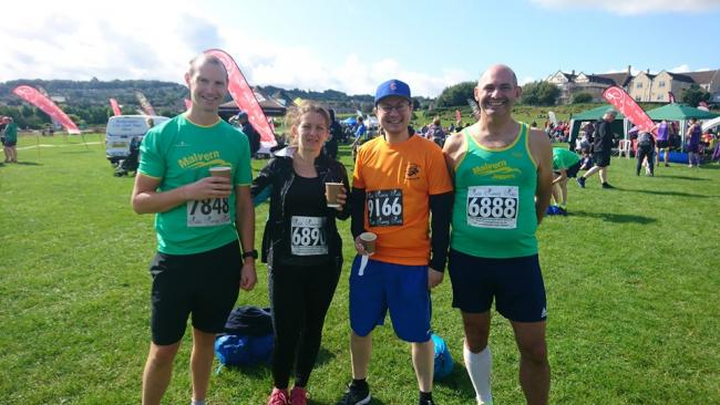 Malvern Joggers' Two Tunnels competitors
