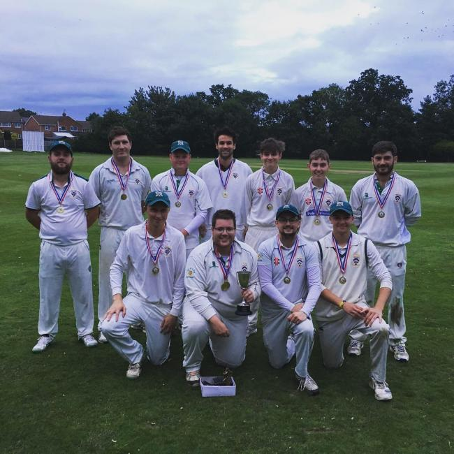 VICTORS: Bromyard's Worcester Evening League double winners. Picture: BROMYARD CRICKET CLUB