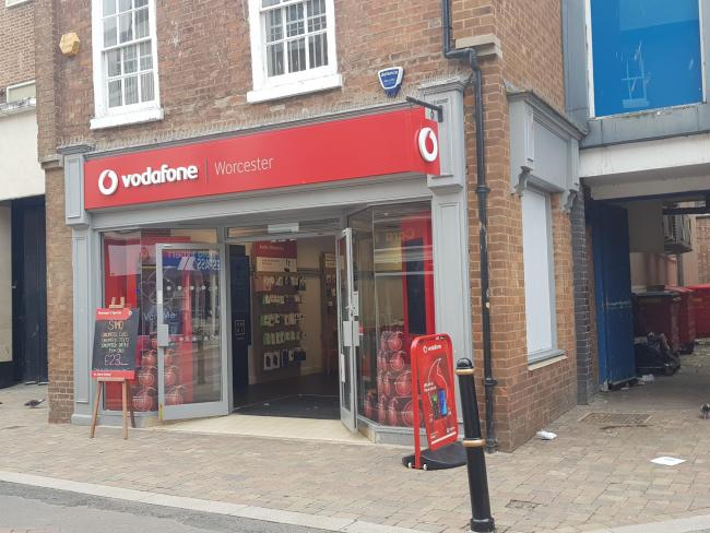 PHONES: Oakeji Idowu stole the iPhones from Vodafone in Worcester