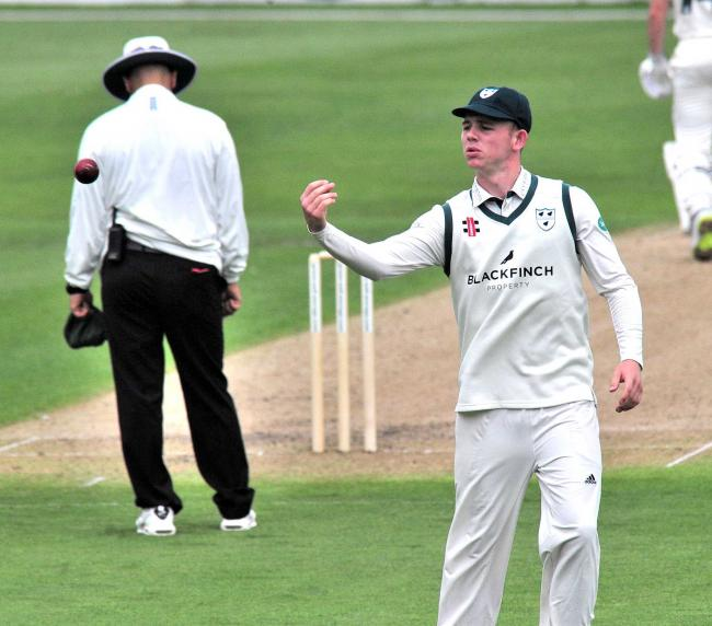 Jack Haynes is part of the 10th father-and-son combination to have played County Championship cricket for Worcestershire. Picture: JONATHAN BARRY