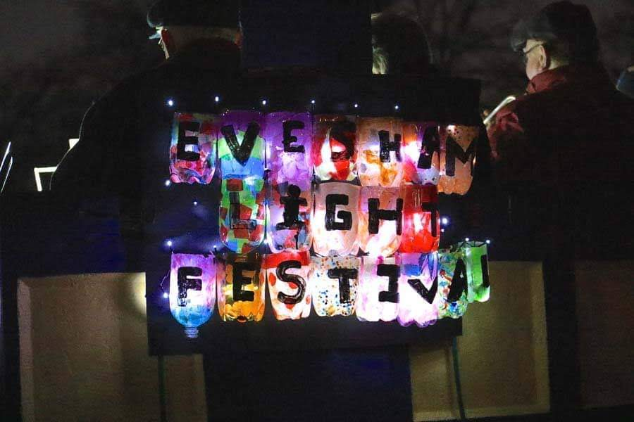 Evesham Festival of LIght Lantern Parade 2019