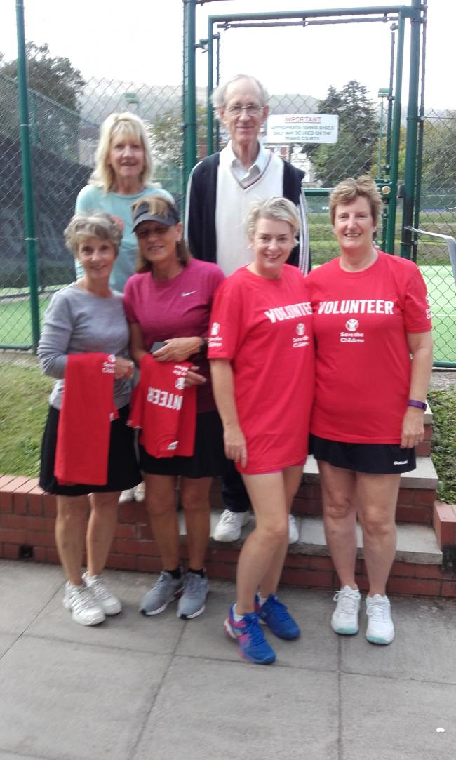 Save the Children raise cash with annual tennis tournament
