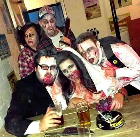 Fancy joing a zombie pub crawl? Who wouldn't