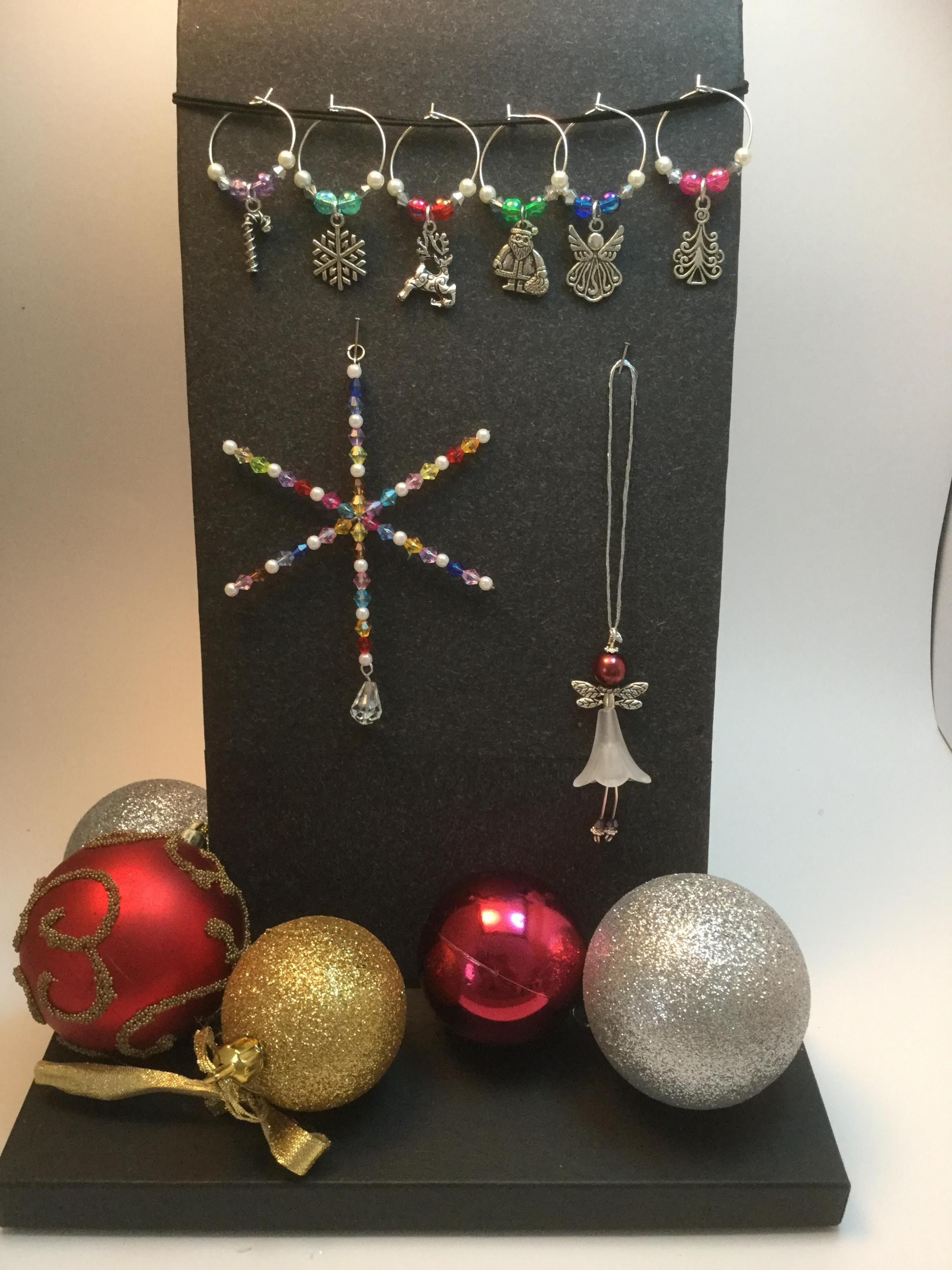 Jewellery Making Workshop - Christmas Decorations
