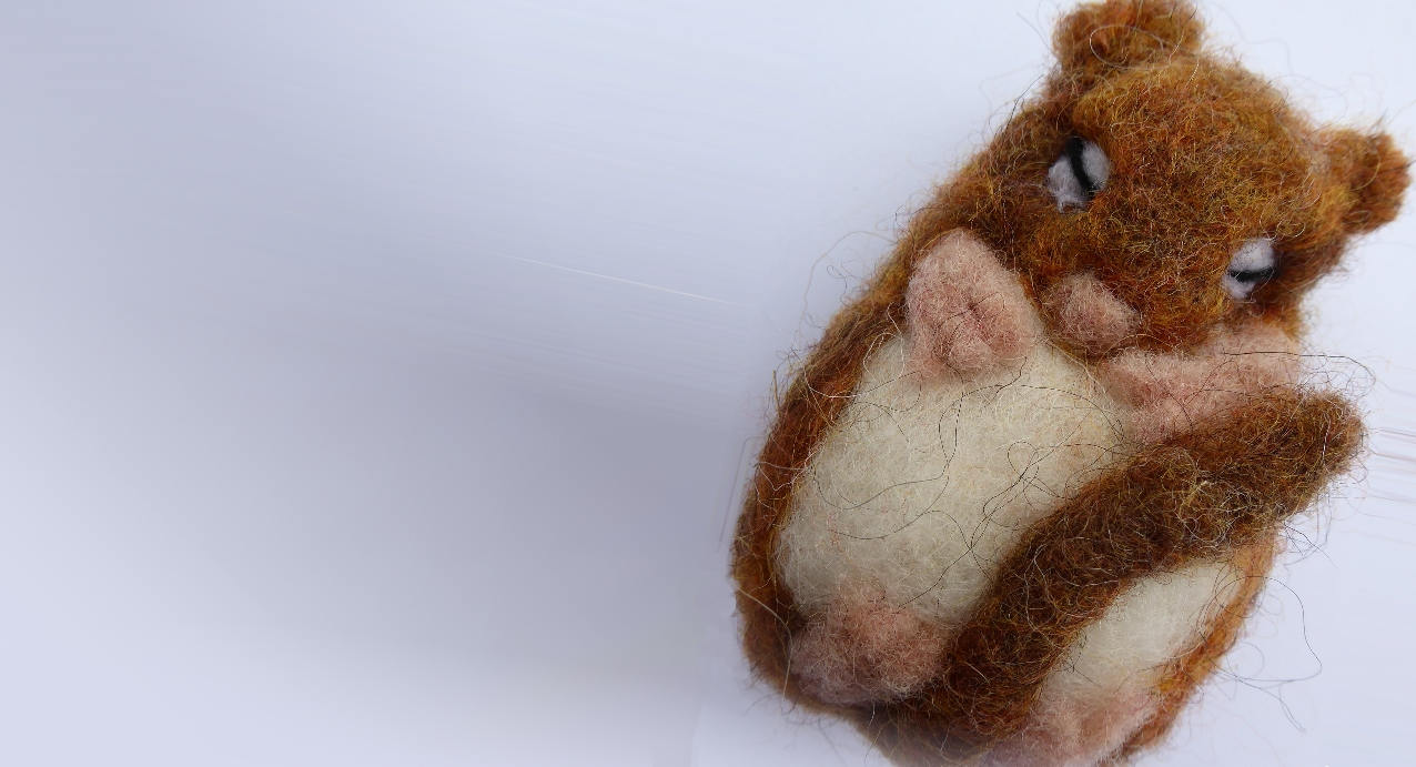 Dormouse Needle Felting Workshop