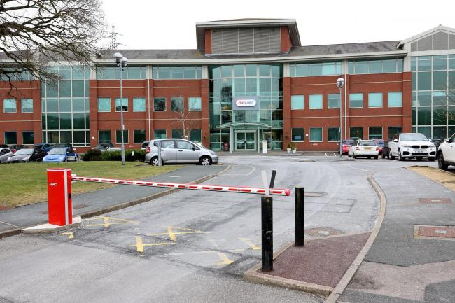 npower headquarters at Warndon, Worcester.