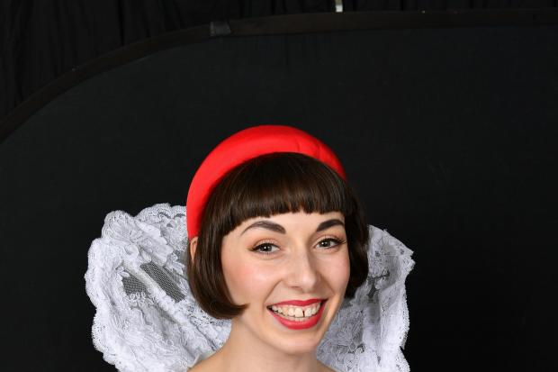 Genevieve Lowe as Snow White. Picture by Beth Martyn Smith.
