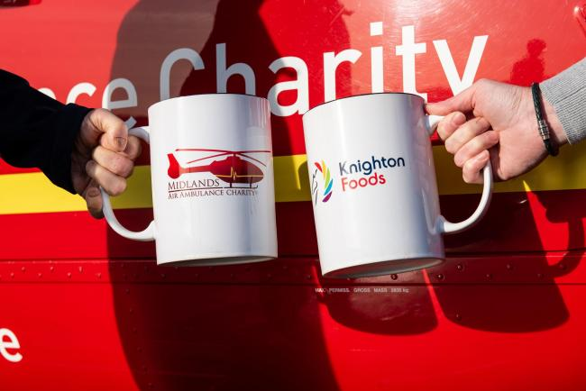CHOCOLATE: Midlands Air Ambulance Charity is offering free hot chocolate. Pic. dan@danbarkerstudios.com
