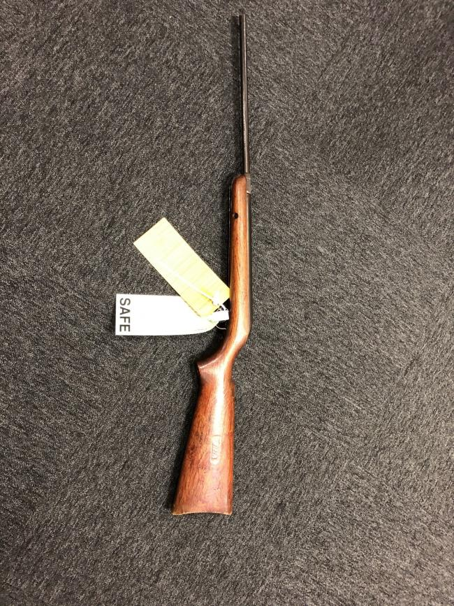 WEAPON: Man charged with 8 offences relating to class A drug supply and firearm offences. PHOTO: SouthWorcsProactiveCID