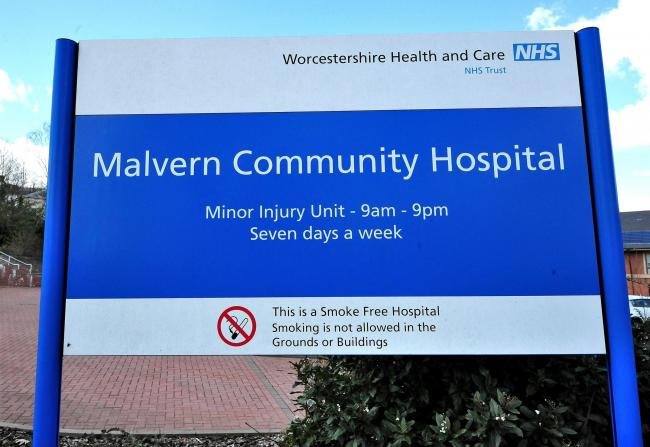 Exterior of the Malvern Community Hospital. Pic. Jonathan Barry.