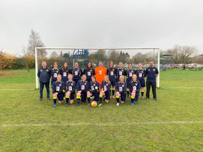 Welland Ladies in their new kit for 2020. Picture: WELLAND FC
