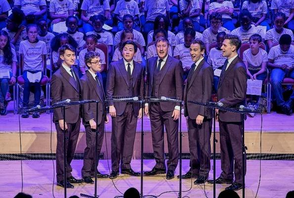 SINGERS: The King's Singers are coming to Malvern