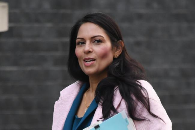 STANDARDS: Priti Patel, the Home Secretary. Picture: PA