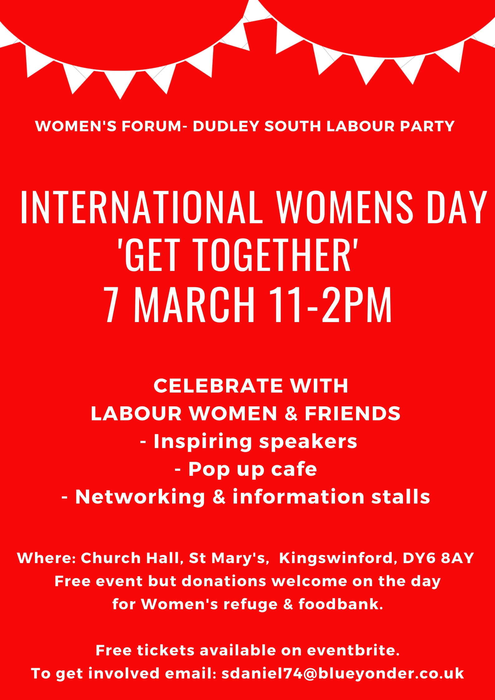 International Women's Day Get Together - Dudley South Labour Women