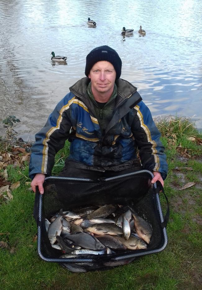Lee Harman. Picture: MALVERN ANGLERS