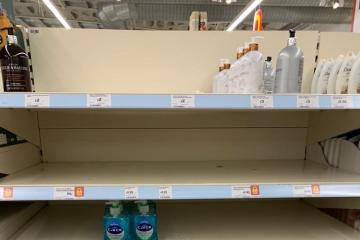 CORONAVIRUS: Worcester supermarket shelves left bare – but people told not to panic buy