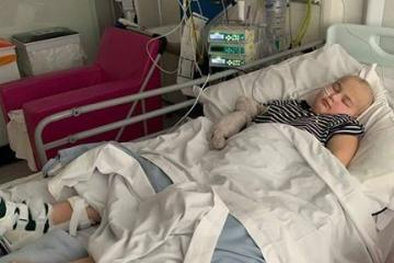 Lily May Filmer's transplant 'on hold' after rare reaction to drug leaves her paralysed