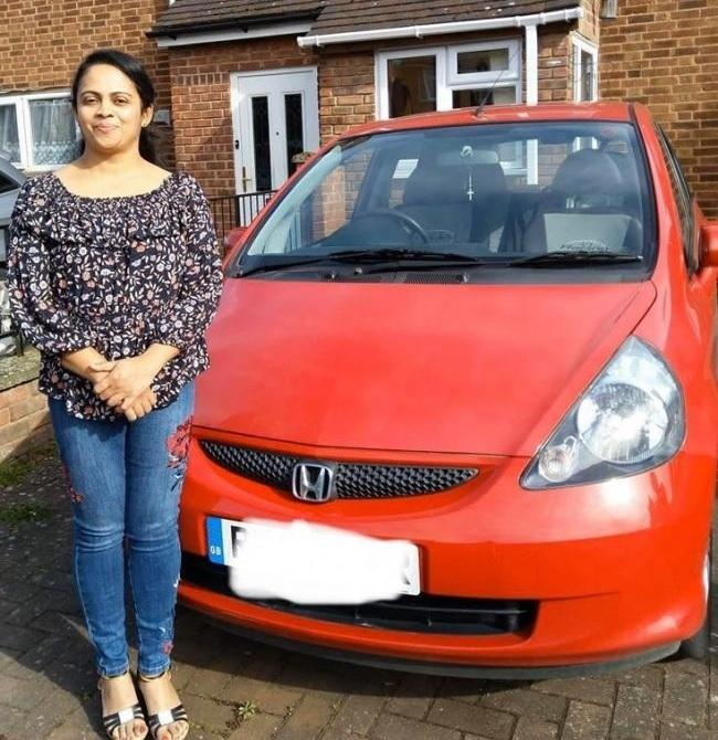 Sibymol Antony has said she is eternally grateful for the donations that helped her get back on the road