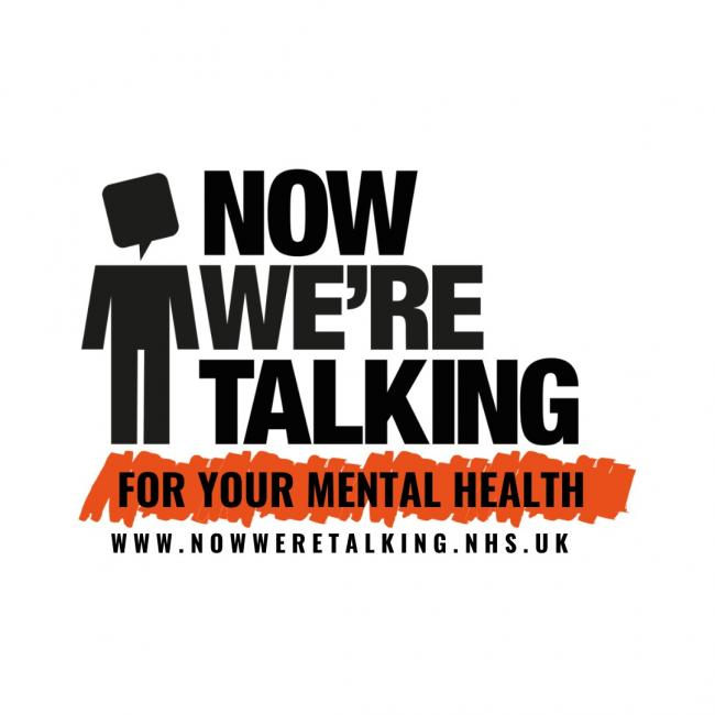 The Now We're Talking campaign is run by Worcestershire Health and Care NHS Trust