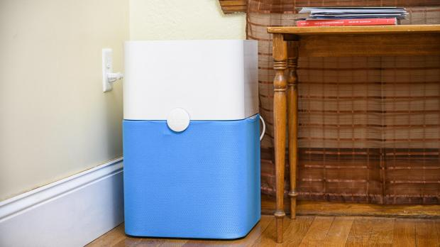Malvern Gazette: Whole-room air purifiers, like the Blue Pure 211 , are less portable than personal air purifiers, but are more effective at removing pollutants from larger spaces. Credit: Reviewed.com / Betsey Goldwasser