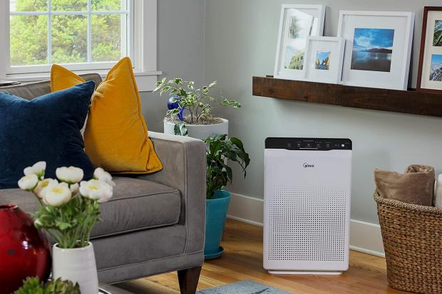 Malvern Gazette: The Winix Zero air purifier has Clear Air Delivery Rate (CADR) values exceeding 390 cubic metres per hour, which should help to remove pollutants from your air quickly. Credit: Winix
