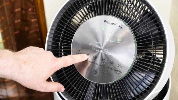 Malvern Gazette: If you purchase an air purifier make sure to clean or replace its filters regularly so that the air purifier is always performing at its best. Credit: Reviewed.com / Betsey Goldwasser