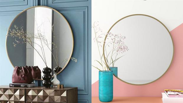 Malvern Gazette: A bigger, more modern mirror will create the illusion of more space. Credit: Wayfair