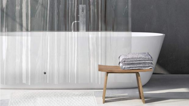 Malvern Gazette: A clean shower liner will make your bathroom much more welcoming. Credit: Amazon