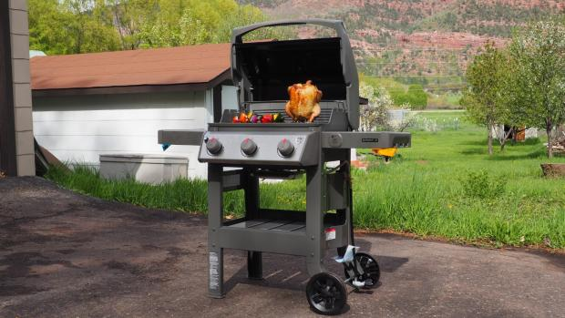 Malvern Gazette: The Weber Spirit II E-310 remains the best gas BBQ we've tested. Credit: Reviewed