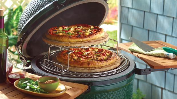 Malvern Gazette: You can use a kamado to cook steaks and burgers or use it as an outdoor oven or smoker. Credit: Big Green Egg