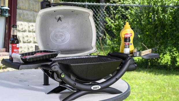 Malvern Gazette: The Weber Q is a well-made, versatile portable gas BBQ. Credit: Reviewed / Betsey Goldwasser