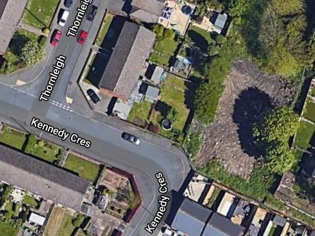 A patch of land to the northwest of Kennedy Crescent has been earmarked for the plan. Image: Google Maps.
