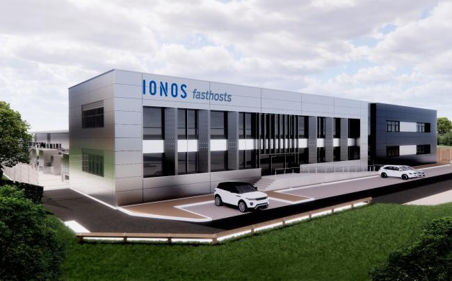 VIEW: An artist's view of the proposed data centre at Worcester Six