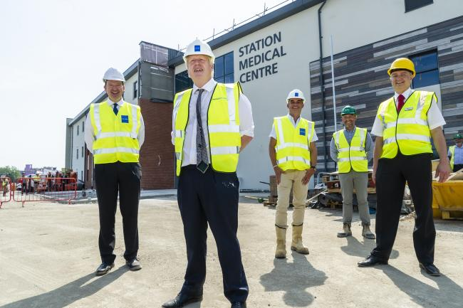 HEALTH: PM Boris Johnson visit to Prime PLC New Station Medical Centre