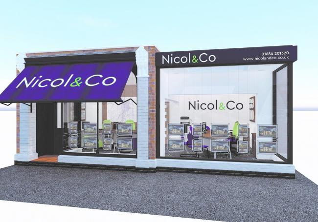 NEW: An artist's impression of the new Nicol and Co office in Malvern