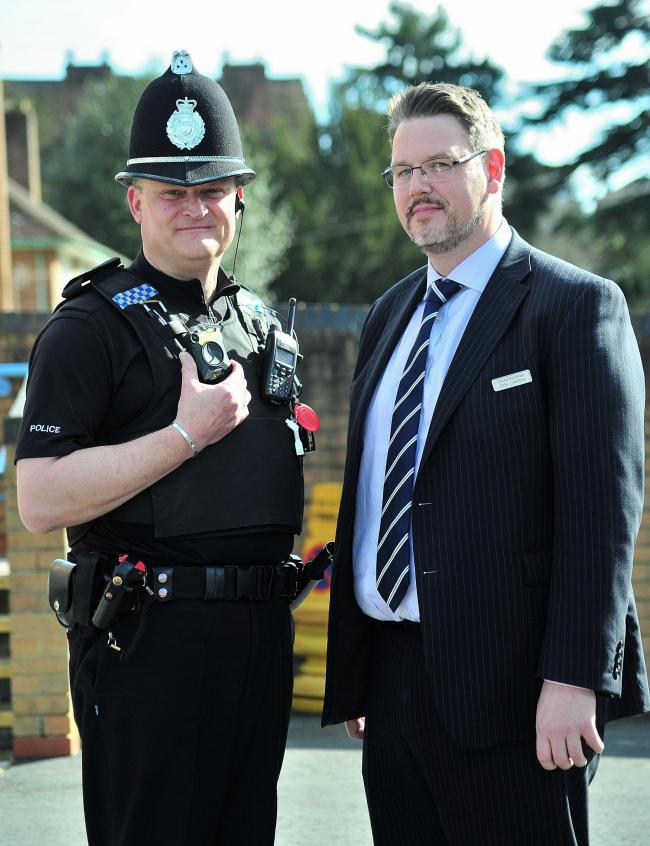 ASSAULTS: PCC John Campion is highlighting a surge in Covid-19 and spitting assaults on officers