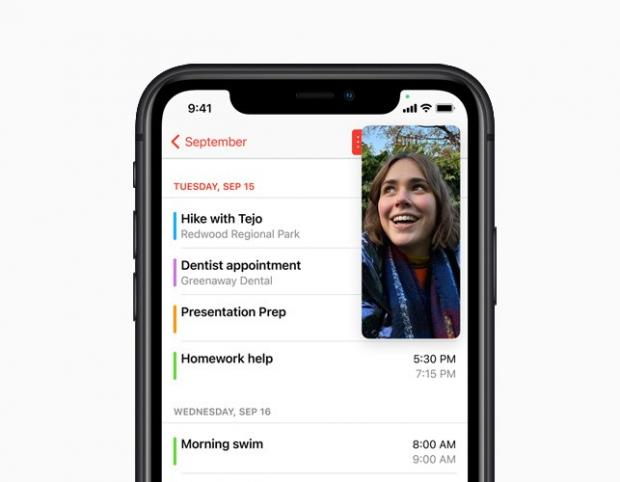 Malvern Gazette: With Picture-in-Picture, users can watch a video or take a FaceTime call while using another app. Picture: Apple