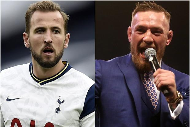 Harry Kane and Conor McGregor