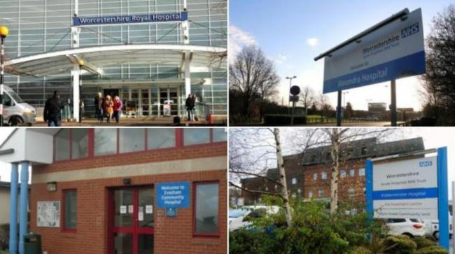 COVID: Worcestershire hospitals