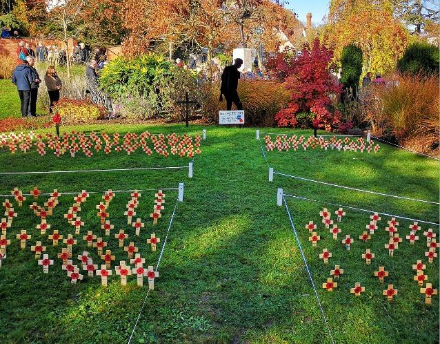 MEMORY: The Field of Remembrance in Malvern.