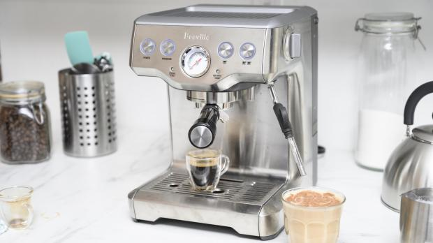 Malvern Gazette: If you're trying to kick your Costa habit, you may benefit from an espresso machine. Credit: Reviewed / Betsey Goldwasser