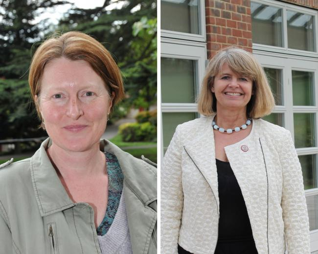 REACTION: Cllr Sarah Rouse (left) and Harriett Baldwin MP (right)