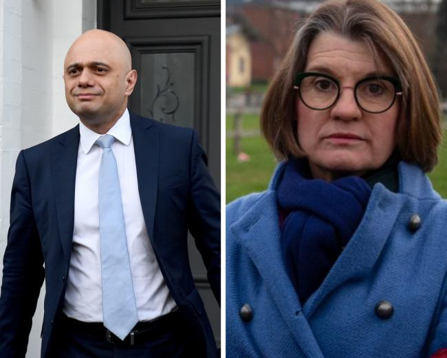 WARNING: Sajid Javid MP and Rachel Maclean MP