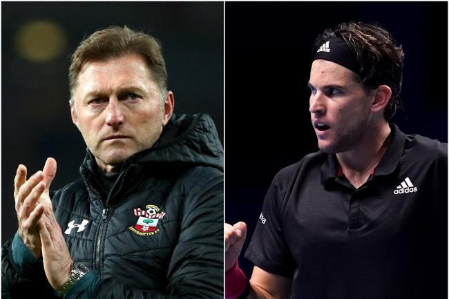 Austrian duo Ralph Hasenhuttl and Dominic Thiem are both competing against a number of elite rivals in their respective sports