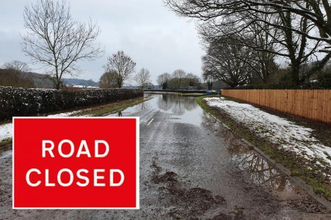 UPDATED: Road closures in Worcestershire - Monday February 1