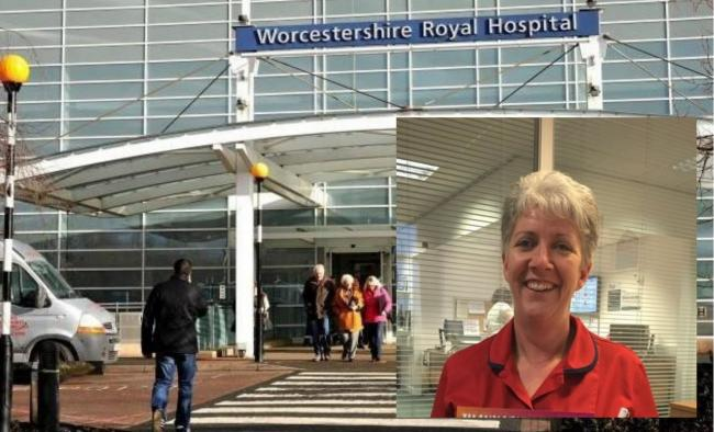 INSPECTION: Worcestershire's maternity service has been told to improve following an announced inspection in December; chief nursing officer Vicky Morris